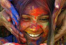 The soul of the world / Perfume your soul through the emotions of humanity. All our colors form the same rainbow.