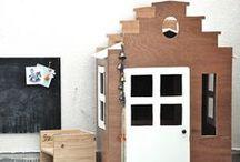 Kid's teepee tipi houses / by www.prikkeltje.nl
