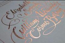Luxury Wedding Stationery / London based bespoke wedding invitation service