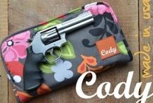 Cody Gun Cases / Cody Pistol Clutch Gun Cases: stylish solutions for girls with guns