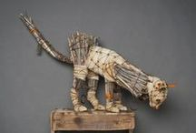 assemblage sculpture / by janet fisher