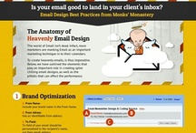 Email Design and Newsletter Design Best Practices / The Commandments of Email & Newsletter Design; an interactive infographic & checklist   A very interesting & informative Infographic by Email Monks on 'Email Design Best Practices'.