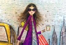 Bella Pilar illustrations / by Monika Kupiec