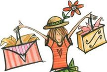 Shopping in drawings / by Nica Montanari