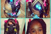 Little girls hairstyles  / Madison