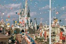 Disney Parks, Now and Then / Vintage Disney World and Disneyland, Concept Art, Park Posters... / by Penny Brite