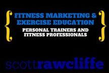 Education For Personal Trainers & Fit Pros / If you're a personal trainer or fitness professional want to learn how to attract more clients, as well as methods to train them better this board is filled with great info for you!