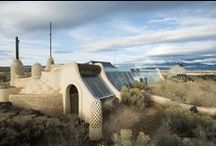 Alternative Architecture / Futuristic, Ecological, Earthship, Cobb