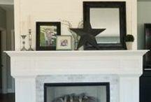 fireplace / by Tanya McKinney