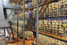 Boekhandels en bibliotheken / in Europa