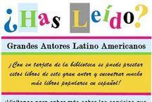 ¿Has Leido?  Libros en Español / ¡Con su tarjeta de la Biblioteca Publica de Northport-East Northport, se puede prestar libros de grande autores latino americano y encontrar mucho más libros populares en español!