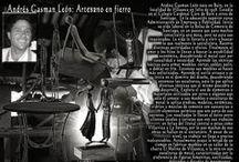 Artesania en muebles de fierro Andres Gasman / Muebles  estilo Industrial