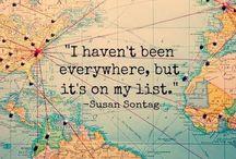 Be a Traveler. / Read me when you crave an adventure.