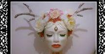 Head piece / coiffes / Retrouvez ici toutes les coiffes.  J'en créé également sur mesure. Retrouvez moi sur www.labulledelise04.com  ou sur Facebook https://www.facebook.com/bulledelise/?ref=bookmarks Handmade and made in France