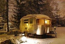 Trailer Ideas, Camping / For the love of outdoors and rolling vacations!  Or simply wanting to escape the rat race... / by CHARITY KUTSCH