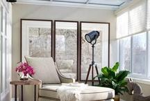 decor inspiration / neutral, cottage, bohemian, romantic prairie, elegant rustic / by Lisa O'Neil