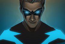 Dick Grayson (Nightwing, First Robin) / Dick Grayson....nuff said