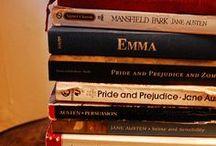 Jane Austen / Ein Board für die Queen des Regency-Romans :-)