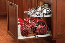 Kitchen Organization / Want to get your home a little more organized this year? Browse this board for great kitchen organization hacks, kitchen organization ideas, kitchen storage solutions, and more!