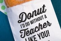 Teacher Appreciation Day / Show appreciation to the hard working teachers you know this year. Follow this board for teacher gift ideas, teacher appreciation ideas, and more!