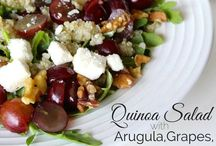 Salads / Love a crisp salad on a warm day to refresh you? Find some of the best salad recipes and salad variations here!