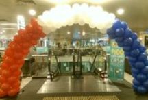 Balloon Arch / Balloon Arches comes in all different shapes and sizes.  They add an amazing affect for that special occasion or event.