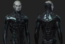Nanopunk Characters