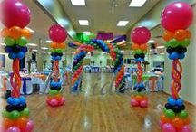 Balloon Columns & Towers / We can create balloon decorations to suit any theme and any occassion.
