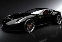 Automobily / Rychléa jinak zajmavé automobily, především Alfa Romeo