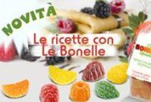 Le Bonelle Gelées Foodblogger Project / Tante sfiziose ricette realizzate con Le Bonelle Gelées