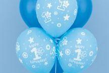 1st Birthday Balloon Decorations