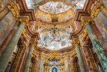 Art & Worship / Art enlightens the mind, light illuminates art.