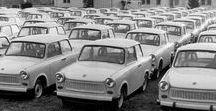 Trabant / Trabant (トラバント)は、東ドイツ(ドイツ民主共和国)のVEBザクセンリンク(ドイツ語版)社が生産していた小型乗用車。トラビ (Trabi) の愛称で親しまれた。 名称はドイツ語で「衛星」「仲間」「随伴者」などを意味する語。1957年に打ち上げに成功したソ連の人工衛星「スプートニク1号」を賞賛して命名された。