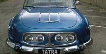 tatra / タトラ(Tatra)は、チェコの自動車  かつては空冷エンジンを搭載した大型のリアエンジン乗用車も製造していたが、1998年に乗用車分野から撤退した