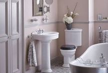Updating Ageing Bathrooms / Updating your ageing bathroom? Need inspiration? Check out our board containing on how to update your old bathroom as well as a choice of Heritage Bathroom suites for inspiration.
