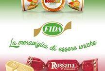 Rossana / Una bacheca interamente dedicata alle nostre buonissime Rossana. Per info: http://www.fidacandies.it/it/brands/rossana