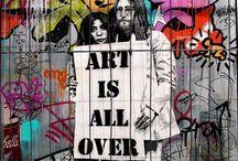 Street art / Mais cor, por favor.