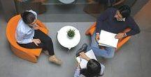 Reunión informal  :  Ideas / Muebles de oficina para espacios de reunión informal.