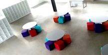 Sillas, bancos y sillones para oficina  :  Ideas