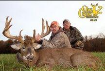 Oak Creek 2 harvest for 2014 / #oakcreek2 #trophywhitetaildeerhunting www.oakcreekwhitetailranch.com