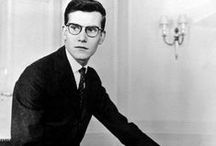 Yves Saint Laurent / Photos of Yves Saint-Laurent and of his work