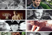 Starring Jamie Dornan... / The characters Jamie brings to life.  / by Hailea Verduga Fiona