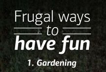 Frugal Living / Find savvy ways to save and stay financially fit with these simple ideas.