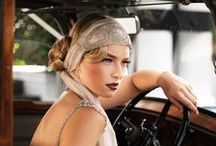 Gatsby, Flapper, Twenties hair & make up / Inspiration for a Gatsby style hair and make up