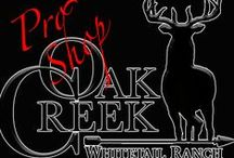 Oak Creek Pro Shop / Everything you are looking for from Oak Creek. Hats, shirts, jackets and hoodies, all sorts of Oak Creek swag. To purchase any item, message oakcreekranchmarty@earthlink.net.