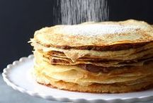 .pancakes. / One of my favorite things to eat