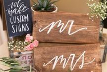 Creative Wedding Ideas / by Michelle // Elegance & Enchantment