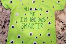 Special Events - 100th Day of School / Celebrate the 100th Day of School with The Cheerful Chalkboard! Find  lesson plans, activities, games, forms, tips, gifts, and more!