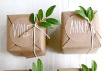 .gift. / Ideas for gift wrapping & giving gifts.