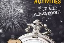 Holidays - New Years / Celebrate the New Year at home and in your classroom! Find ideas on decorating your home and classroom as well as ideas for games, activities, and lesson plans.